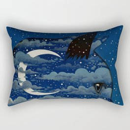 LUNA CAT by Raphaël Vavasseur Rectangular Pillow