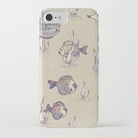 swimming iPhone & iPod Cases featuring swimming by Lidija Paradinović Nagulov - Celandine