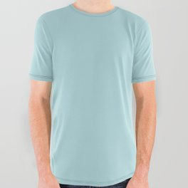 Simply Pretty Blue All Over Graphic Tee