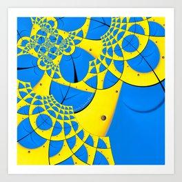 Droste - A Study of Form  Art Print