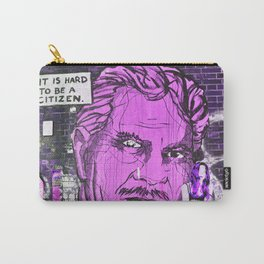 IT IS HARD TO BE A CITIZEN - Berlin Carry-All Pouch
