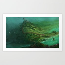 Serpentine Art Print
