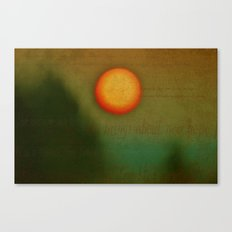 Morn - Textured Photography Canvas Print