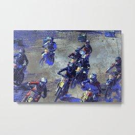 Lets Race!  - Motocross Racers Metal Print
