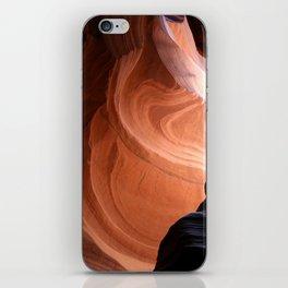 Antelope Canyon Reddish And Blue Tones iPhone Skin