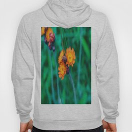 Orange and Red Flowers Hoody