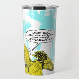 C3PO Retro Travel Mug