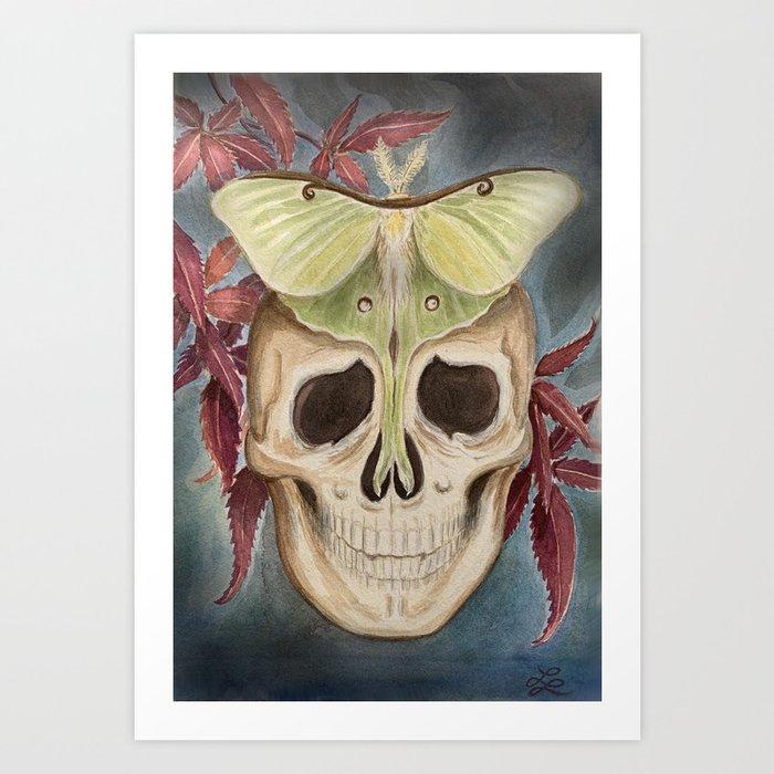 Death and Hope Art Print