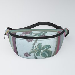 Painted Raspberries on Distressed Farmhouse Fanny Pack