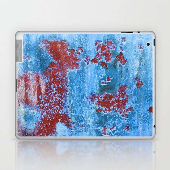 Blue/Red Laptop & iPad Skin