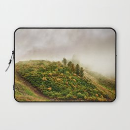 Autumn valley in the cloud Laptop Sleeve