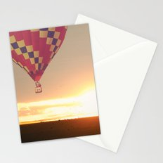 Balloons at Sunset Stationery Cards