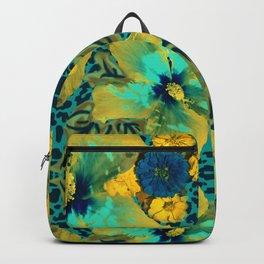 Safari Hibiscus Backpack