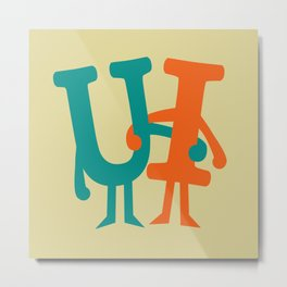 You and I Metal Print