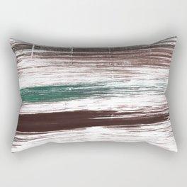 Brown striped Rectangular Pillow