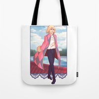 howl Tote Bags featuring Howl by aer-dna