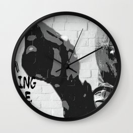 im coming home, ace Wall Clock