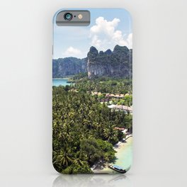 Railay Bay - Rai Leh Beach, Krabi Thailand  -  Tropical Paradise iPhone Case