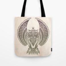 Silent Flight (Owl Wings) Tote Bag