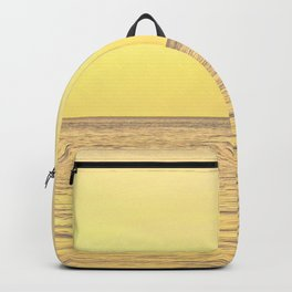 Sunset in the sea Backpack