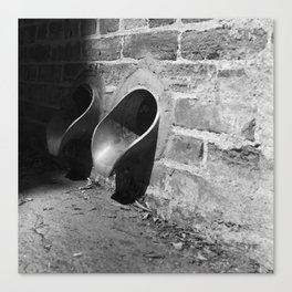 Drain Spouts Canvas Print