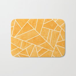 Marigold Stone Bath Mat