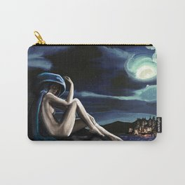 Siren in the Hill Carry-All Pouch
