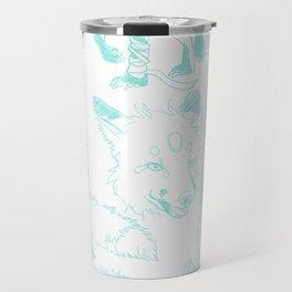 Lord Fox character design, pencil Travel Mug