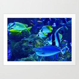 Underwater Sea Art Print