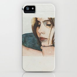 E is for Ennui iPhone Case