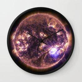 solar flairs Wall Clock