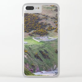 Ruined Scottsh Church Clear iPhone Case