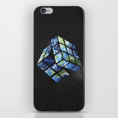 rubik's earth iPhone & iPod Skin