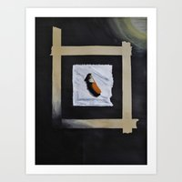 cigarette Art Prints featuring Cigarette by Pamela Leszczynski