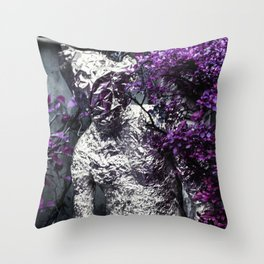 Searching but lost Throw Pillow