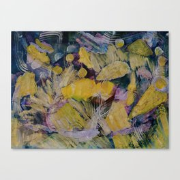 Gloden Harvest Collage Canvas Print