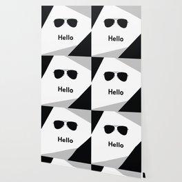 Hello,black sunglasses Wallpaper