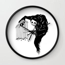 A  Gorey Demise Wall Clock
