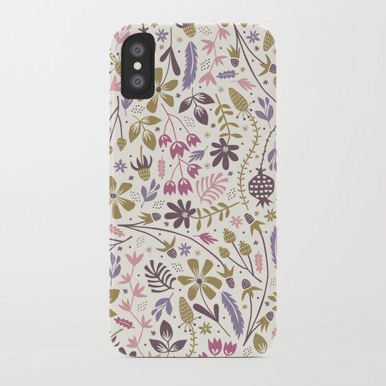 Vintage Blooms iPhone Case