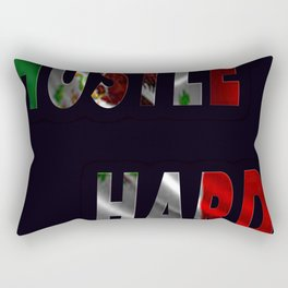 Hustle Hard Mexico Rectangular Pillow