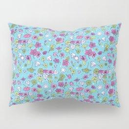 Flowers, Clovers & Diamonds Pillow Sham