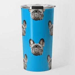 French Bulldog dog Travel Mug