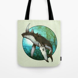 Whale Oil Tote Bag