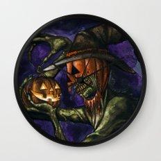 Hobnobbin' with a Goblin Wall Clock