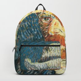 Vincent Van Gogh Self Portrait Backpack