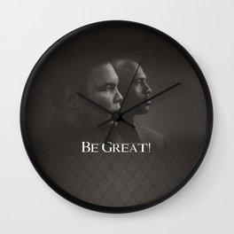 Be Great Wall Clock