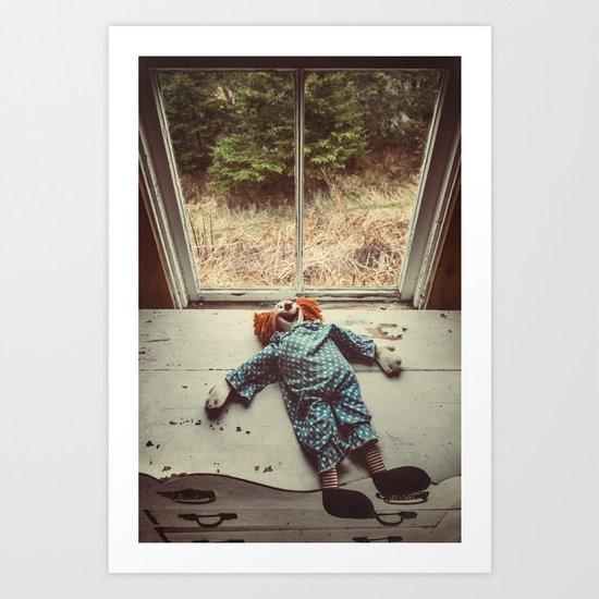 My Friend the Clown Art Print