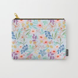 Blossoms and Flowers pattern Carry-All Pouch