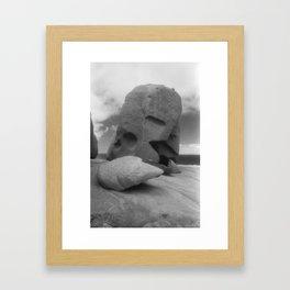 Remarkable Rocks 3 Framed Art Print