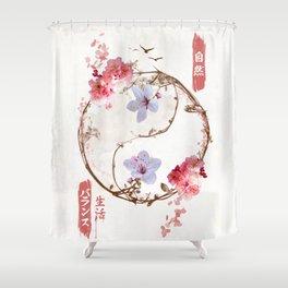 Eternal Balance Shower Curtain